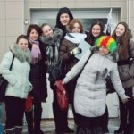 """Отряд """"Милосердие"""" и педагоги гимназии побывали с новогодней благотворительной акцией в социальном приюте поселка Станьково"""