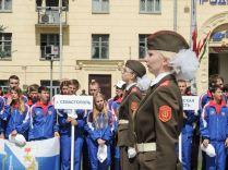 В гражданско-патриотической акции «Подвиг народа бессмертен» впервые приняла участие делегация Севастополя