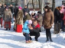 Празднование масленницы в Станьково 22.02.2015 (1)