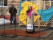 Празднование масленницы в Станьково 22.02.2015
