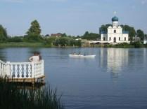 Купалье в Станьково 2015 (23) озеро храм