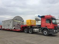 Транспортировка спутника BELINTERSAT-1 на космодром Сичань