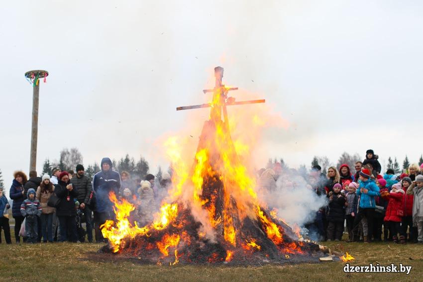 Праздник встречи весны. Масленицу в ЦЭТ «Станьково» посетили более 1000 человек