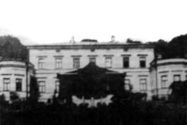 Так выглядел дворец Гуттен Чапских в Станьково (уничтожен во время Првой мировой войны).