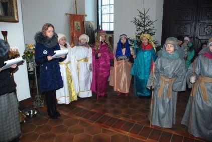 праздничная рождественская программа в храме святителя Николая Чудотворца в Станьково