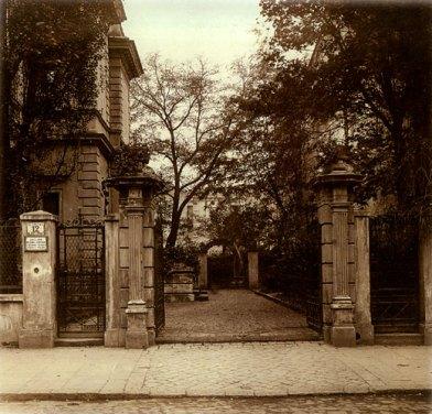 Вход в музей им. Эмерика Гуттен-Чапского в Кракове