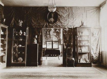 Зал саксонского фарфора на выставке керамики, ок. 1904 г.