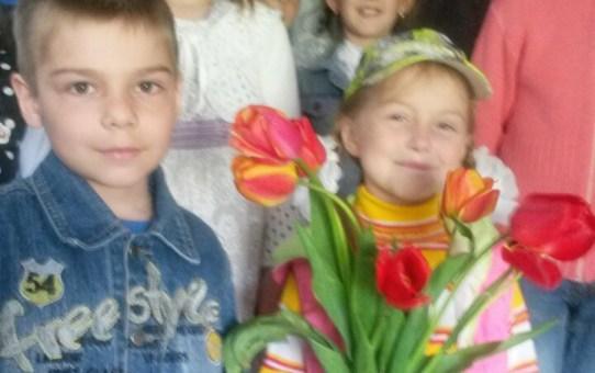 В Станьково учащиеся воскресной школы поздравили ветеранов