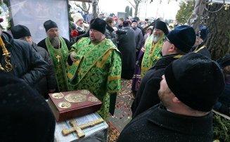 День памяти Валентины Минской молебен на могиле