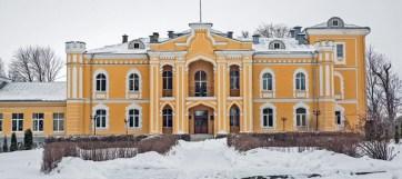 Дворец в Прилуках отлично сохранился, а как выглядела усадьба Станьково, можно судить только по старинным картинам