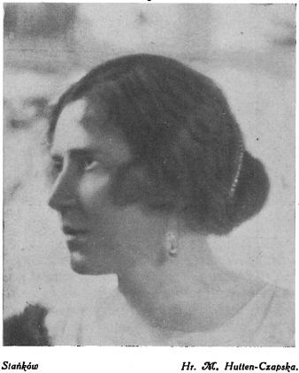 Станьково. Графиня Мария Гуттен-Чапская.