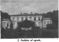 Станьково. Дворец Гуттен-Чапских со стороны парка. А.Урбанский