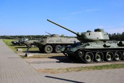 """Военно-исторический комплекс """"Старая граница"""" в Станьково"""