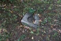 Каменный фрагмент в графском парке