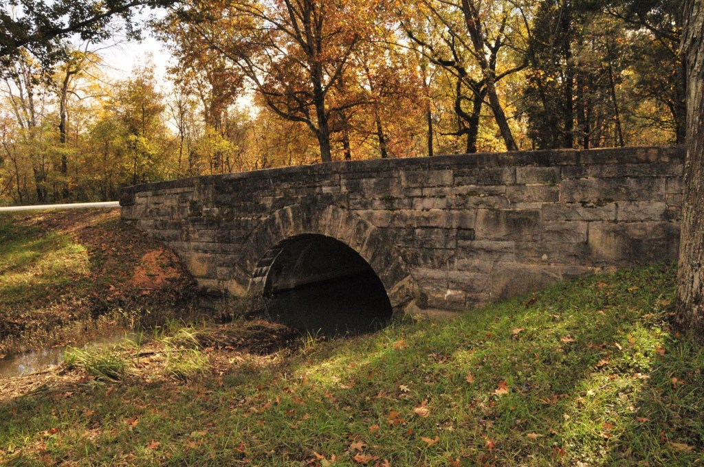 Bridge at Chickamauga Battlefield