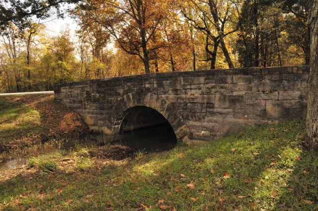 Bridge at Chickamauga Battlefield