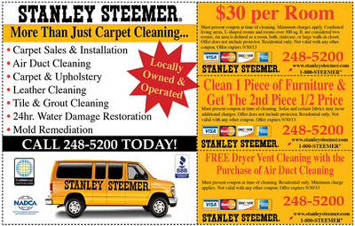 stanley steemer carpet cleaner reviews