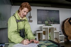 Cathy Aitchison at the Nature House