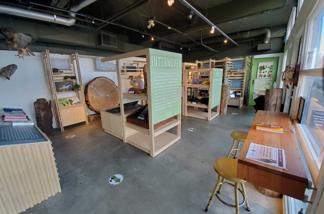 The Nature House is full of engaging exhibits