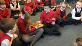 acting out last supper RE