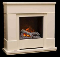 The Dimplex Moorefield Electric Fireplace Suite