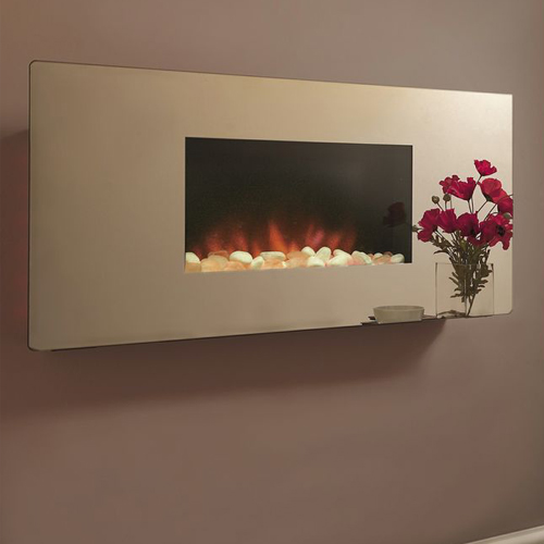Celsi Accent HangontheWall Electric Fire  Mirror Flat