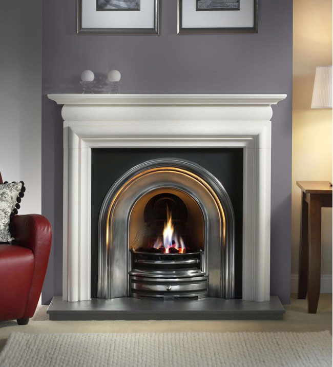 Gallery Asquith Agean Limestone Surround  Stanningley
