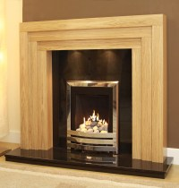GB Mantels Camberley Solid Oak Surround - Stanningley ...