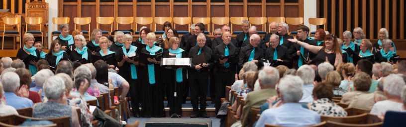 Choir performing at Victoria Hall
