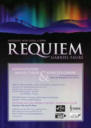 Faure Requiem Poster