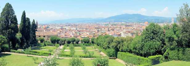 Florence Pitti Palace Gardens