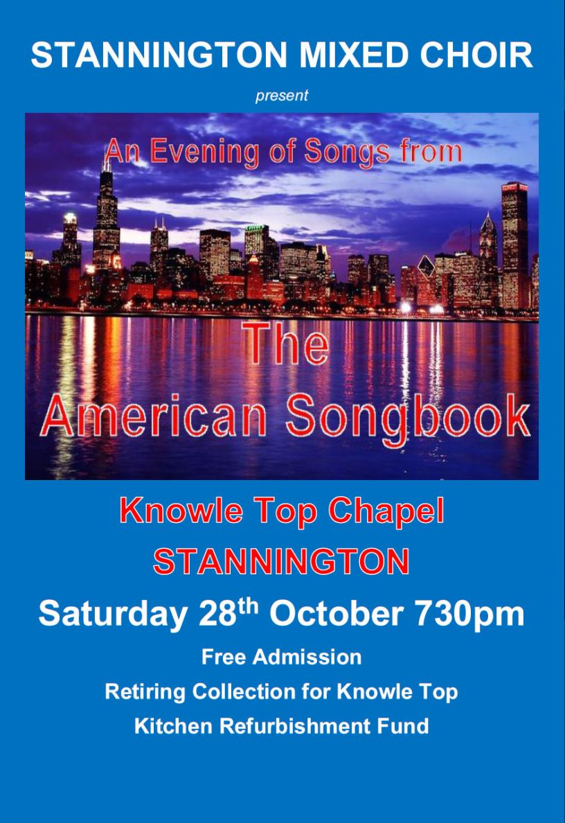 American Song Book Stannington Poster