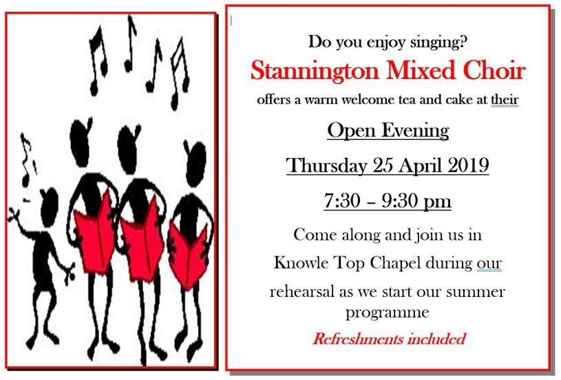 Choir Open Evening