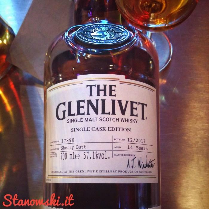 The Glenlivet 14 Years Old Single Cask 2017