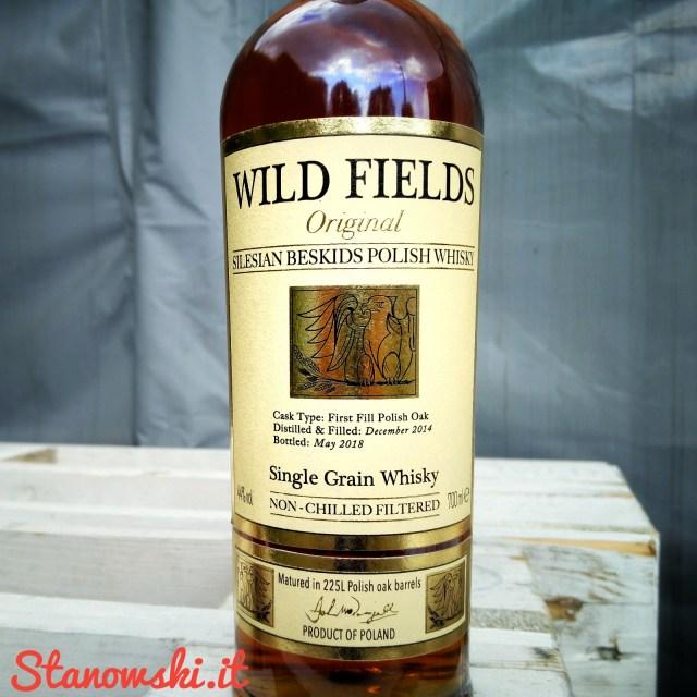 Wild Fields Original Single Grain Polish Whisky