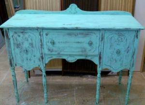Van Gogh painted stage of 1915 Sideboard in Provence  style