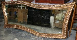 Large mirror wave pattern