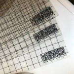 IOD Grid Thin Mount Acetate Sheet (12×18)