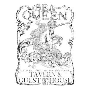 Sea Queen (11″x14″)