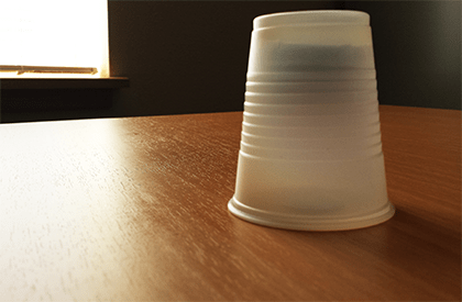 Schrödinger's Cup: A Closed Future of Possibilities