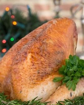 free range bronze turkey crown