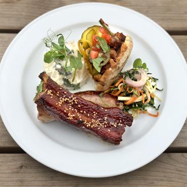 BBQ Pork Plate