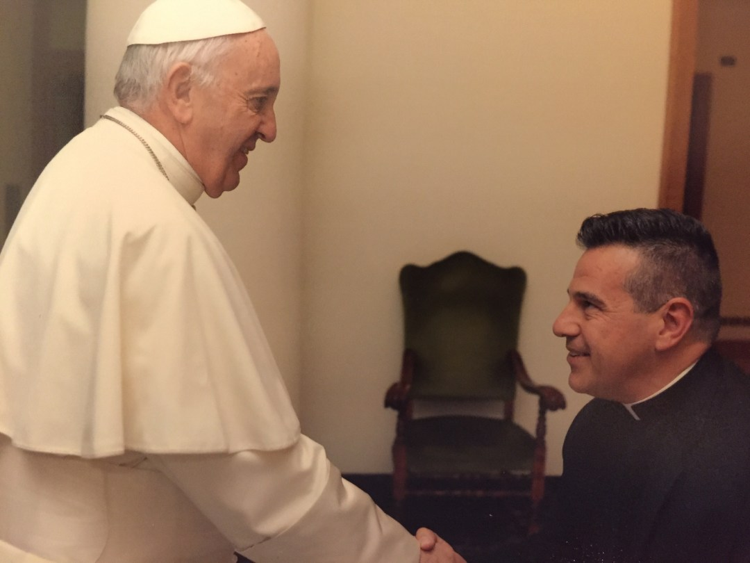 Father Jose Meets Pope Francis