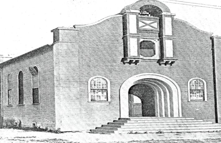 first SA church