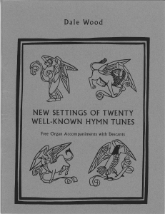 New Settings of 20 Well-Known Hymn Tunes Sheet Music by