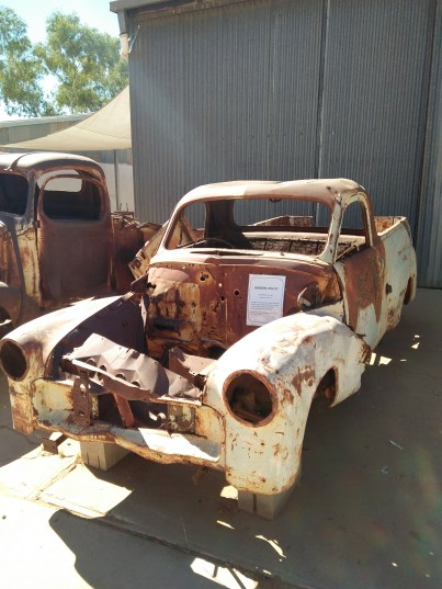 1948 FX Holden, the Mission utility..