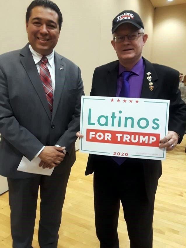 JESUS Marquez, Director of Latinos for Trump – Las Vegas with Stan Vaughan, candidate for State Assembly District 15