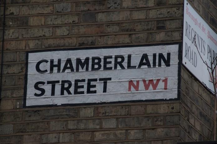 Chamberlain Street (painted)
