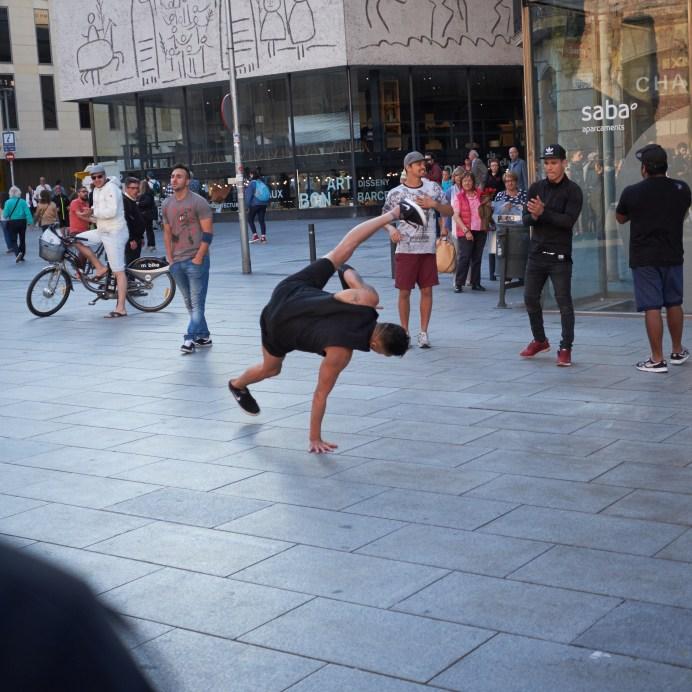 Breakdance sequence Barcelona 0