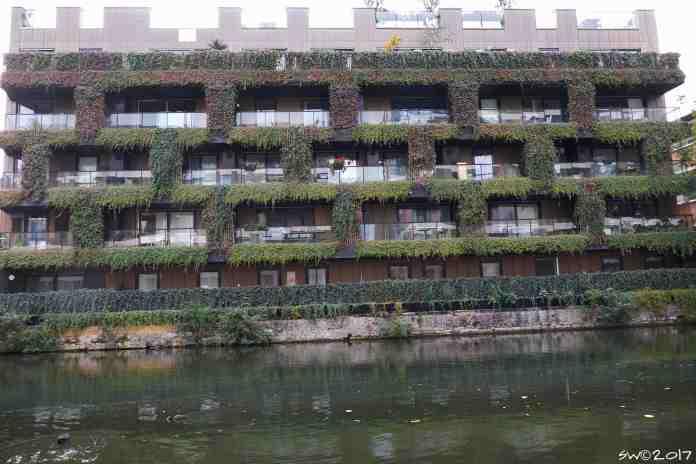 Hidden wall, Regent's Canal1